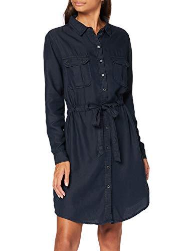 Springfield Tencel-c/01 Vestido de Fiesta, Negro (Black 1), 36 (Tamaño del Fabricante: 36) para Mujer