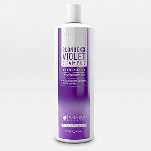 Amazon Keratin Blonde Violet Champú 473 ml