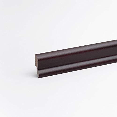 Sockelleiste - Fußleiste 40 x 22 x 2.600mm Dekor Mahagoni