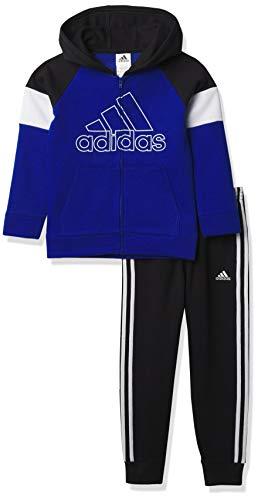 adidas - Pantalones cortos para niño (2 a 4 T), color gris
