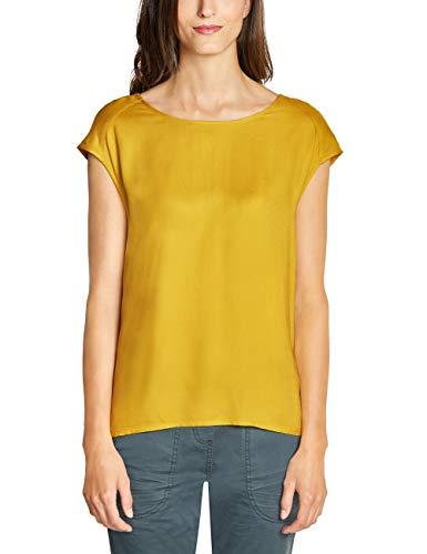 CECIL Damen 341573 Bluse, Gelb (ceylon yellow 11892), Medium (Herstellergröße:M)