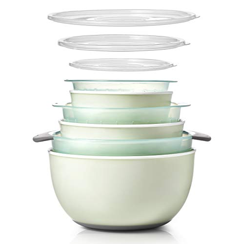OXO Good Grips 9-Piece Nesting Bowl & Colander Set