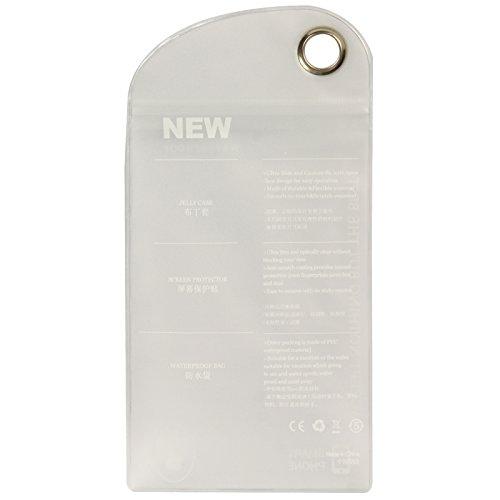 HUANGPUJIAN Fundas para teléfono 50 piezas de plástico para iPhone 6/5 y 5S, 4 y 4S / iPod Touch funda, tamaño: 15 cm x 9,5 cm