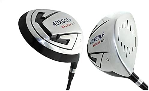 AGXGOLF Ladies Right Hand Magnum 460cc Petite Length (43 inch) 10.5 Degree Driver wLady Flex Graphite Shaft with Head Cover, Made in USA!