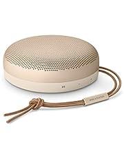 Przenośny, wodoodporny głośnik Bluetooth Bang & Olufsen Beosound A1 (2nd Generation) z mikrofonem, Gold Tone