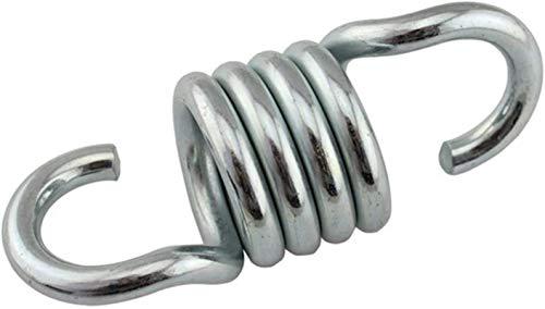 BGGQDG Piezas de Hardware duraderas 2 unids Cargando Durable Robusto de Acero Extensión Spring Fits Hamgock Silla Colgante Pórchido para Suspensión de jardín Accesorios Swing Fácil de reemplazar