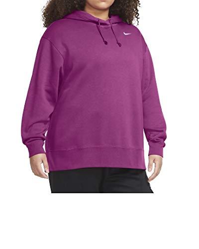 Nike + Sudadera con capucha Essential para mujer. rosa XXXX-Large