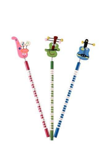 DISOK - LáPiz De Madera Divertido - Lapiceros, lápices baratos y Originales, Divertidos para Detalles de Bodas, Bautizos, Comuniones y Regalos de Cumpleaños para niños