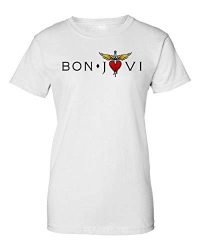 Bon Jovi Logo Camiseta de Mujer