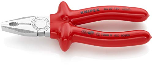 KNIPEX Alicate universal aislado 1000V (180 mm) 03 07 180