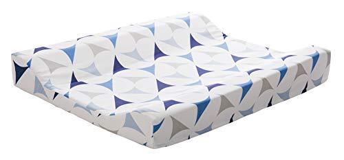 ZEWI bébé-jou Cambiador para bebé, 100% algodón, azul marino, 70 x 50 cm