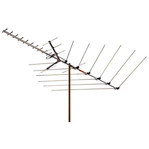 RCA Universal Outdoor 30 Element 113 1/4-Inch Boom Antenna (ANT3036Z) Metallic