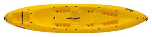 EXO Shark 2, Kayak da Mare Sit On Top Unisex-Adulto, Rosso, 410 cm