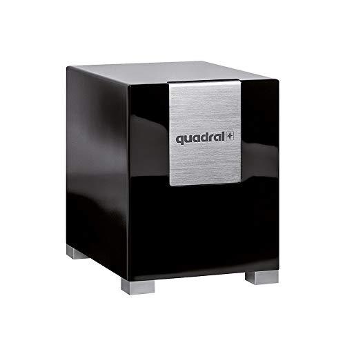 Quadral Qube 10 Aktiv Active subwoofer 280W Schwarz - Subwoofer (280 W, Aktiver Subwoofer, 22 - 200 Hz, 50 - 200 Hz, 26 cm, Schwarz)
