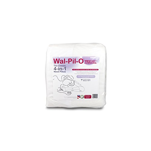 Wal-Pil-O - Doctor Designed Best Rest Neck Pillow Relieves Neck & Shoulder Tension and Pain (Travel Standard)
