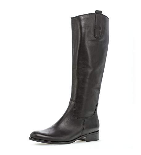 Gabor Fashion Stiefel in Übergrößen Schwarz 31.649.27 große Damenschuhe, Größe:42