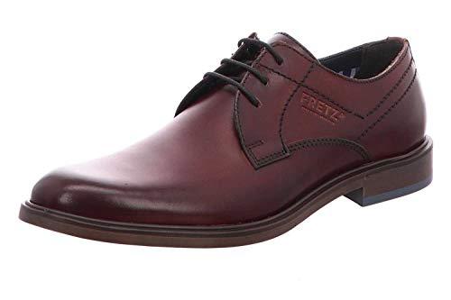 FRETZ men Oskar Zapatos de cordones derby Hombre, Rot (Bordo), 47 EU (12 UK)