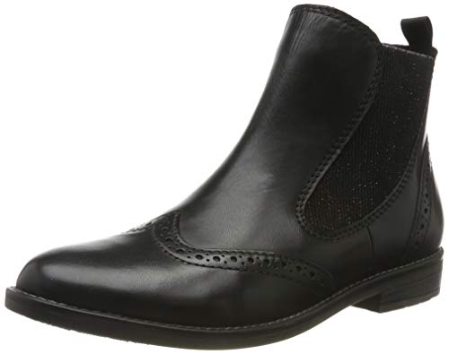 MARCO TOZZI Damen 2-2-25365-33 Chelsea Boots, Schwarz (Black Antic 002), 40 EU