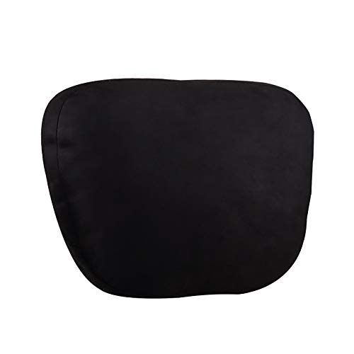 QWY-Car Neck Pillows, DuPont Bio-Fleece Cervical Headrest Breathable Cushions Seat for Driving,black