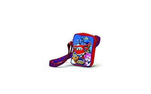 Super Wings Travel Jet Kinder-Sporttasche, Mehrfarbig (Multicolor)