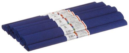 Staufen 617150 - Krepppapier 10 Rollen 50 x 250 cm, lappland - blau
