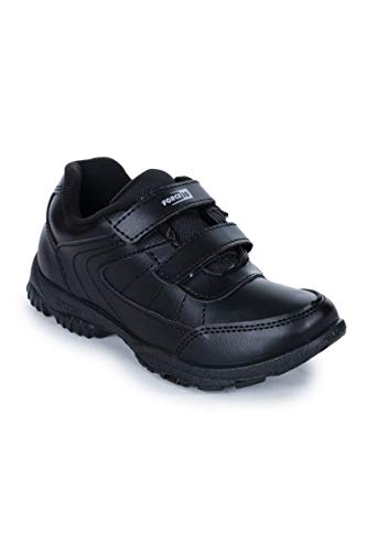 Liberty Force 10 (from Unisex Black School Shoes - 13 Kids UK/India...