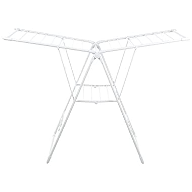 AmazonBasics Gullwing Clothes Drying Rack - White
