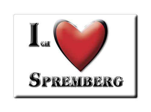 Enjoymagnets SPREMBERG (BB) Souvenir Deutschland Brandenburg Fridge Magnet KÜHLSCHRANK Magnet ICH Liebe I Love