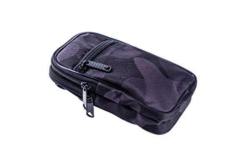 Hunnid Bag - Umhängetasche für den Alltag - Karabinerhaken, Gürtelschnalle und Schultergurt für Smartphone, Karten. Bauchtasche, Reisetasche, Festivaltasche, Wandertasche Männer Frauen