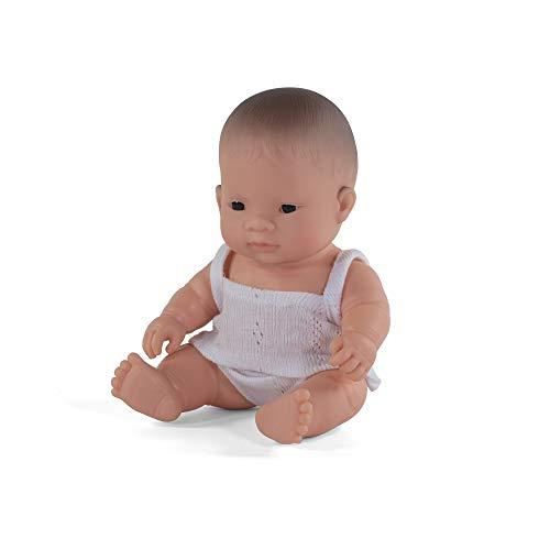 Miniland Miniland31126 31126 - Baby (asiatisches Mädchen) 21 cm