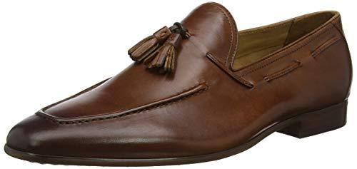 Dune Herren Postory Slipper, Braun (Tan-Leather Tan-Leather), 41.5 EU