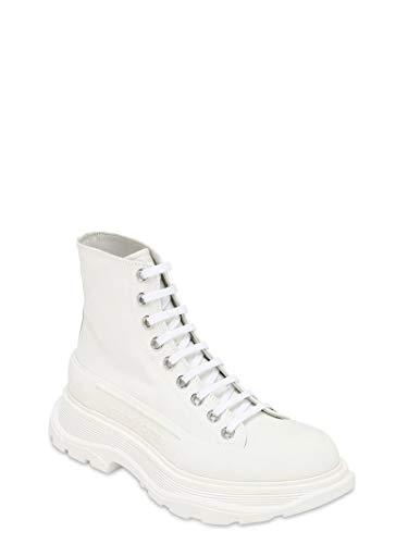 Alexander McQueen White Tread Sneakers New/Authentic (36, 6)