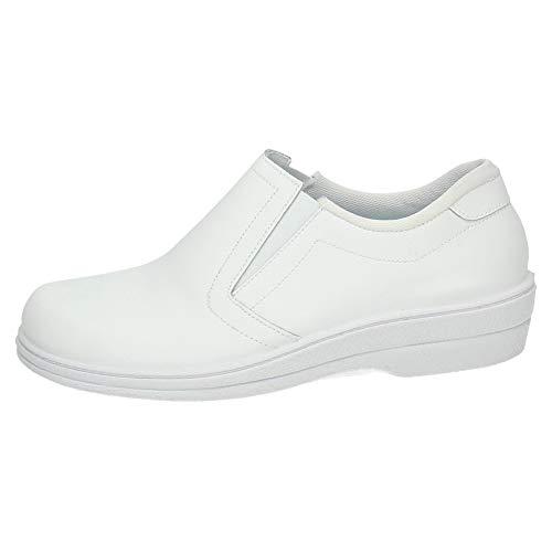 MADE IN SPAIN 18791 Zapato DE Trabajo Mujer Calzado Trabajo Blanco 40