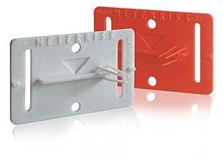 Meterriss RS21 - Selbstklebende Plakette zur dauerhaften Sicherung des Meterrisses bis nach den Putzarbeiten