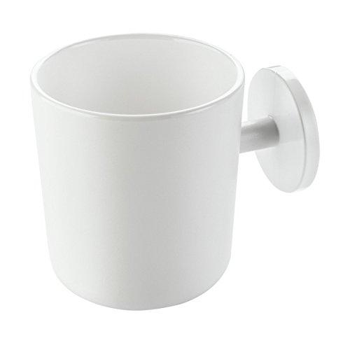 Koziol Tasse Puck, Tasse en Plastique, Tasse à Café, 250 ml, Solid Blanc, 3579525
