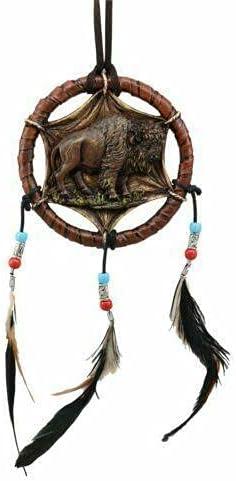 Native Regular store Indian Sacred Bison Dreamcatcher Decor Hanging Dream Deluxe Wall