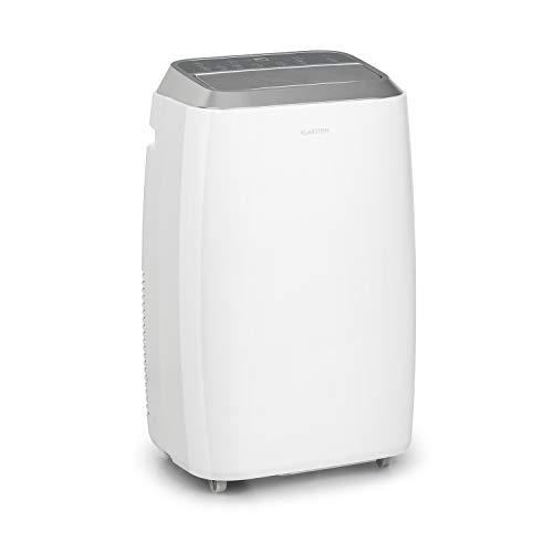 KLARSTEIN Iceblock Prosmart - Condizionatore Portatile, 3in1: Raffreddatore, Deumidificatore, Ventilatore, Classe Energetica A, 9.000BTU/2,6kW, Locale: 26-44 m², Flusso: 300 m³/h max, Bianco