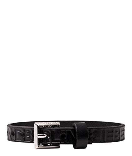Liebeskind Berlin Essential Double Logo Damen Bracelets, 1x26x1 cm (B x H x T), Schwarz (Black)