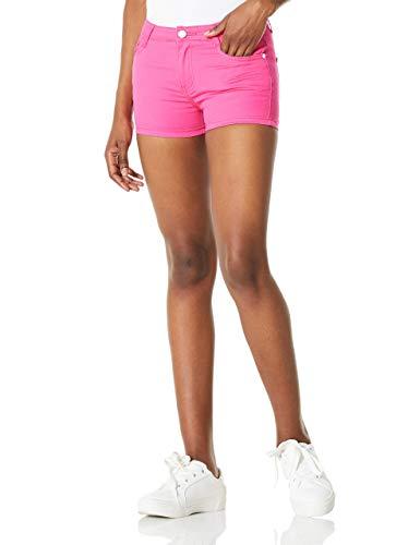 Demon&Hunter Color Series Women's Short Jeans DH8023R(Rose/33)