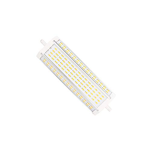 R7S LED 189mm 50WJ Typ Lampe superhelle LED J189 R7S LINEARE LED Röhre Strahler 180 Grad Abstrahlwinkel 90-265V 500W Halogenlampe Ersatz (Warm White)
