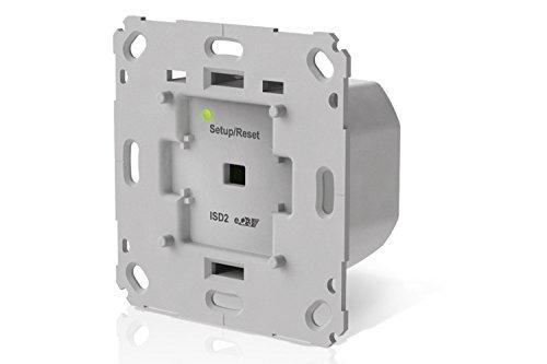 innogy SE Smart Home Unterputzdimmer / Verdunklungsschalter, App-Steuerung, elegante, unsichtbare Installation, Zeitprofile einstellbar, funktioniert mit Amazon Echo/Alexa, 10267406