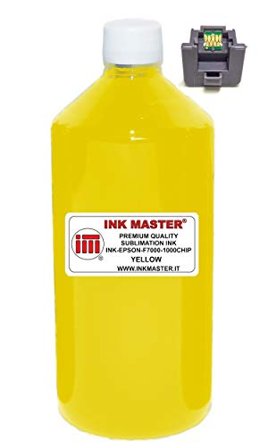 Ink Master - Compatible Ink Bottle sublimazione T7414 Yellow for Epson SureColor SC F6000 F6200 F7000 F7100 F7200 F9200 F9300