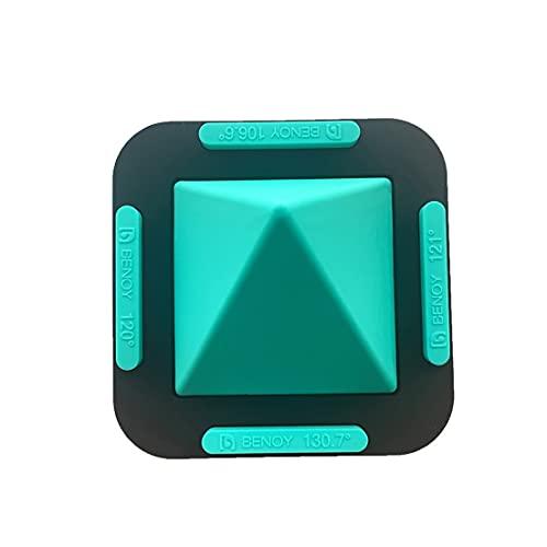 ZNOUSH Soporte de Escritorio Universal portátil de Cuatro Lados for Todos los teléfonos Inteligentes móviles de la Tableta de teléfono Inteligente (Color : Green)