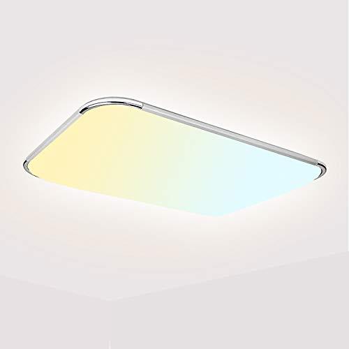 Hengda 36W LED Deckenleuchte Dimmbar Es Hat Memory Funktion Deckenlampe Wohnzimmer Wandlampe Bad Küche Panel Leuchte 2700-6500K
