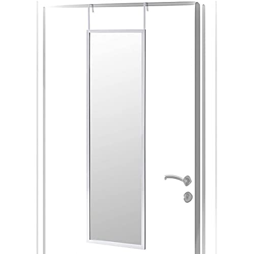 HOGAR Y MAS Espejo para Puerta CLÁSICO 110CM - Plateado