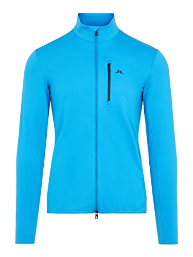 J.Lindeberg Male Jacke Luke Midlayer LTrue Blue