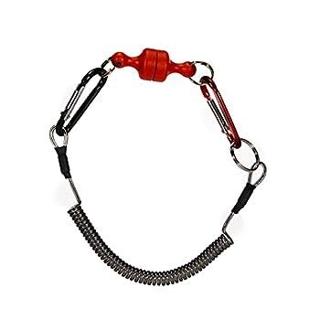 No application Mousqueton magnétique léger et solide en forme de D portable avec libération magnétique solide pour le camping et la pêche