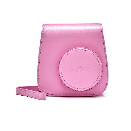 Instax Mini 90 Schutzhulle aus PU Leder mit Tragegurt Blush Rose mini 9