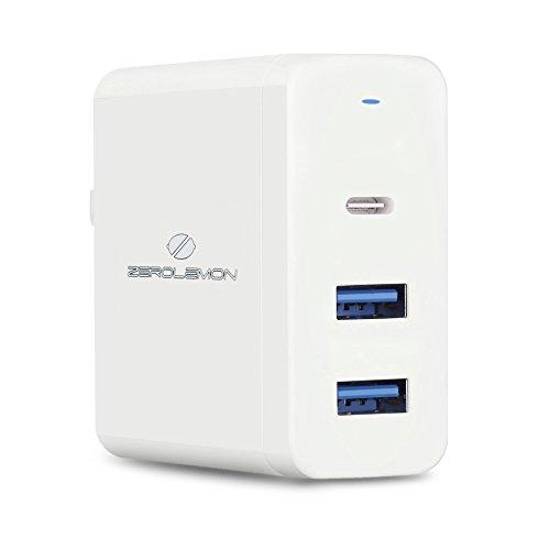 Cargador ZeroLemon 60W 3-Ports USB C PD