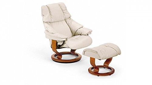 PRIMA Clever einrichten® Stressless® Reno Sessel mit Hocker (S) Grau günstig
